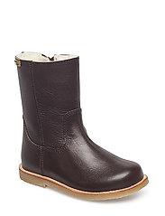 Infant - Winter zipper boot - DARK BROWN