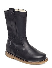Girls - Winter zipper boot - BLACK