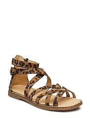 Girls - Gladiator sandal - LEOPARD
