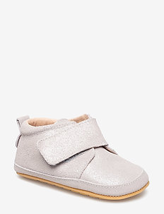 Prewalker - Velcro with toecap - 902 SILVER GLITTER