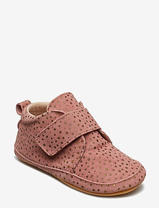 Prewalker - Velcro with toecap - DUSTY ROSE