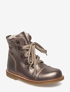 Infant - Winter lace boot - 927/ANTIQUESILVER