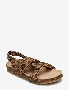 Girls - Cork Sandal - LEOPARD