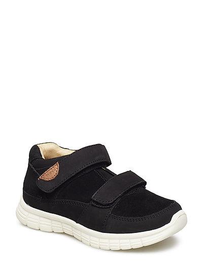 Infant - Unisex sneaker with velcro - BLACK