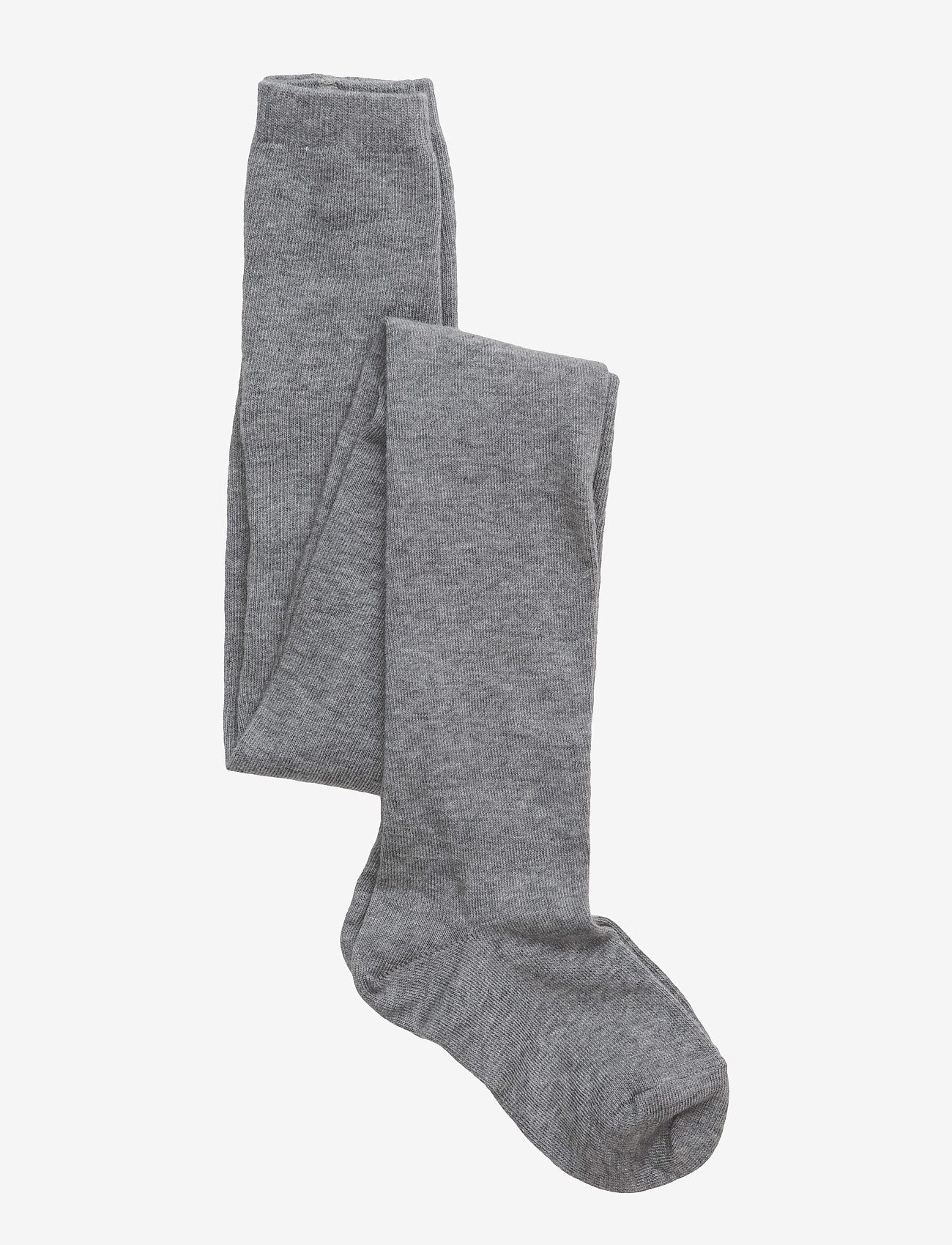 mp Denmark - Plain cotton tights - strømpebukser - light grey - 0