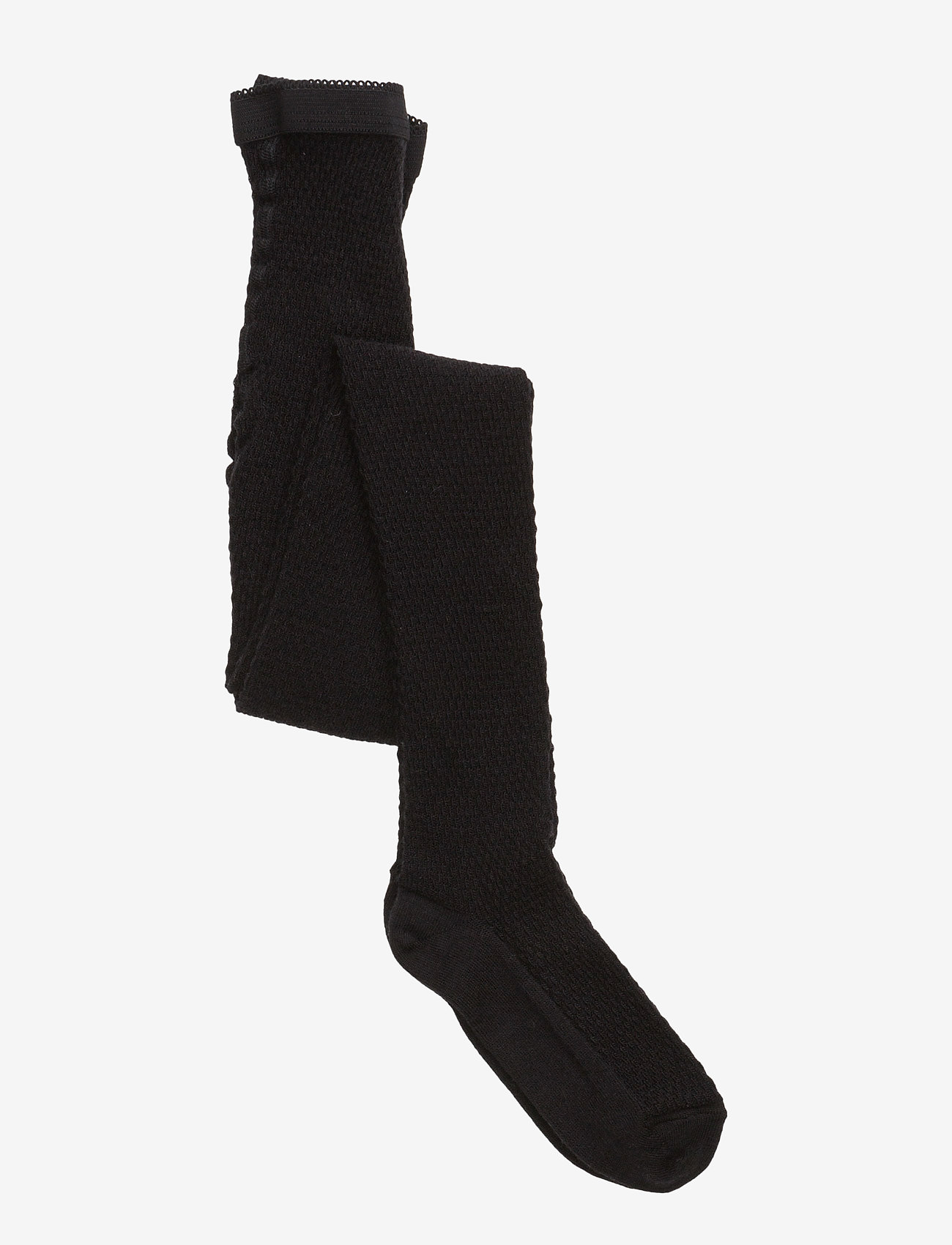 mp Denmark - Capsule wool tights - strømpebukser - 8/black - 0