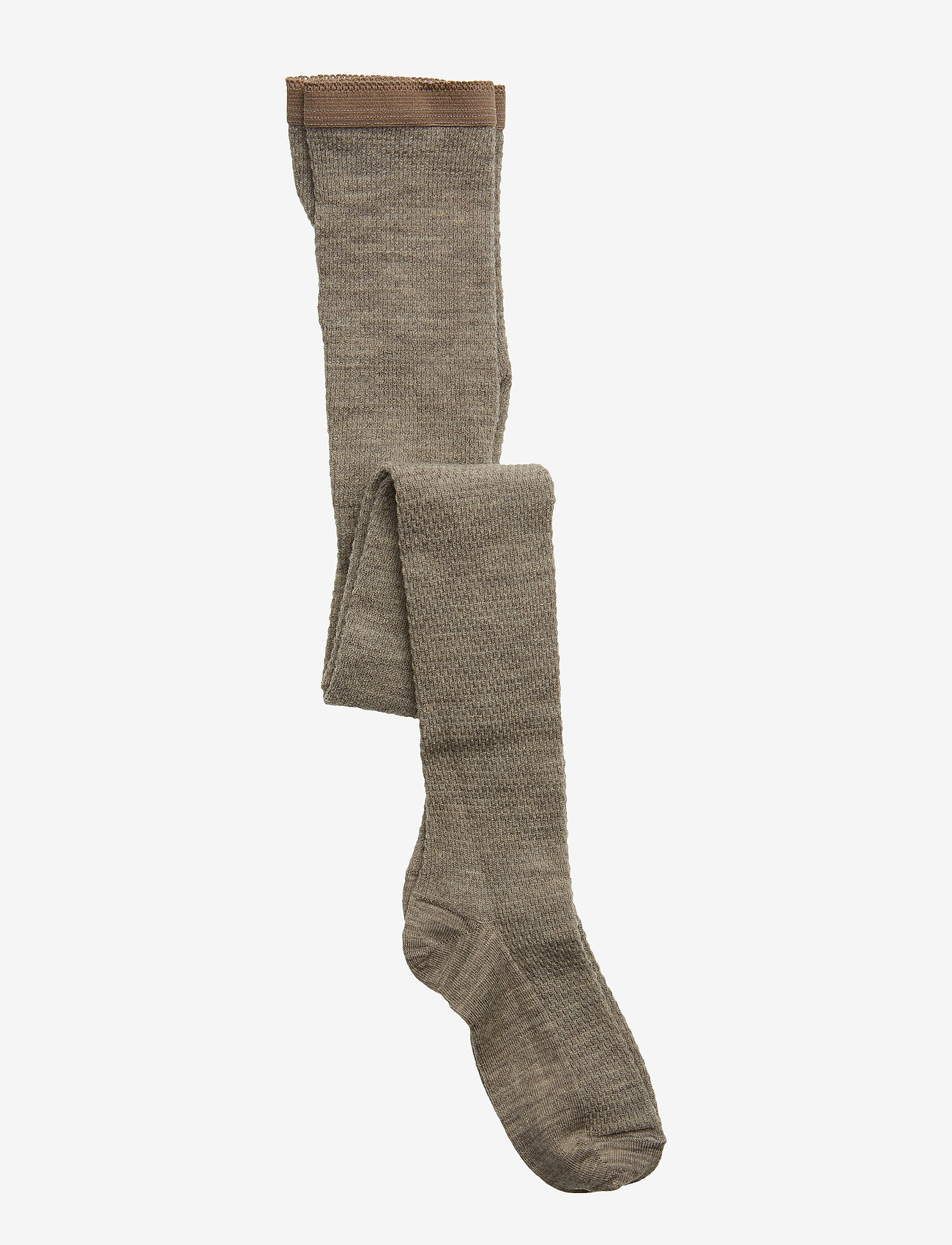 mp Denmark - Capsule wool tights - strømpebukser - light brow - 0