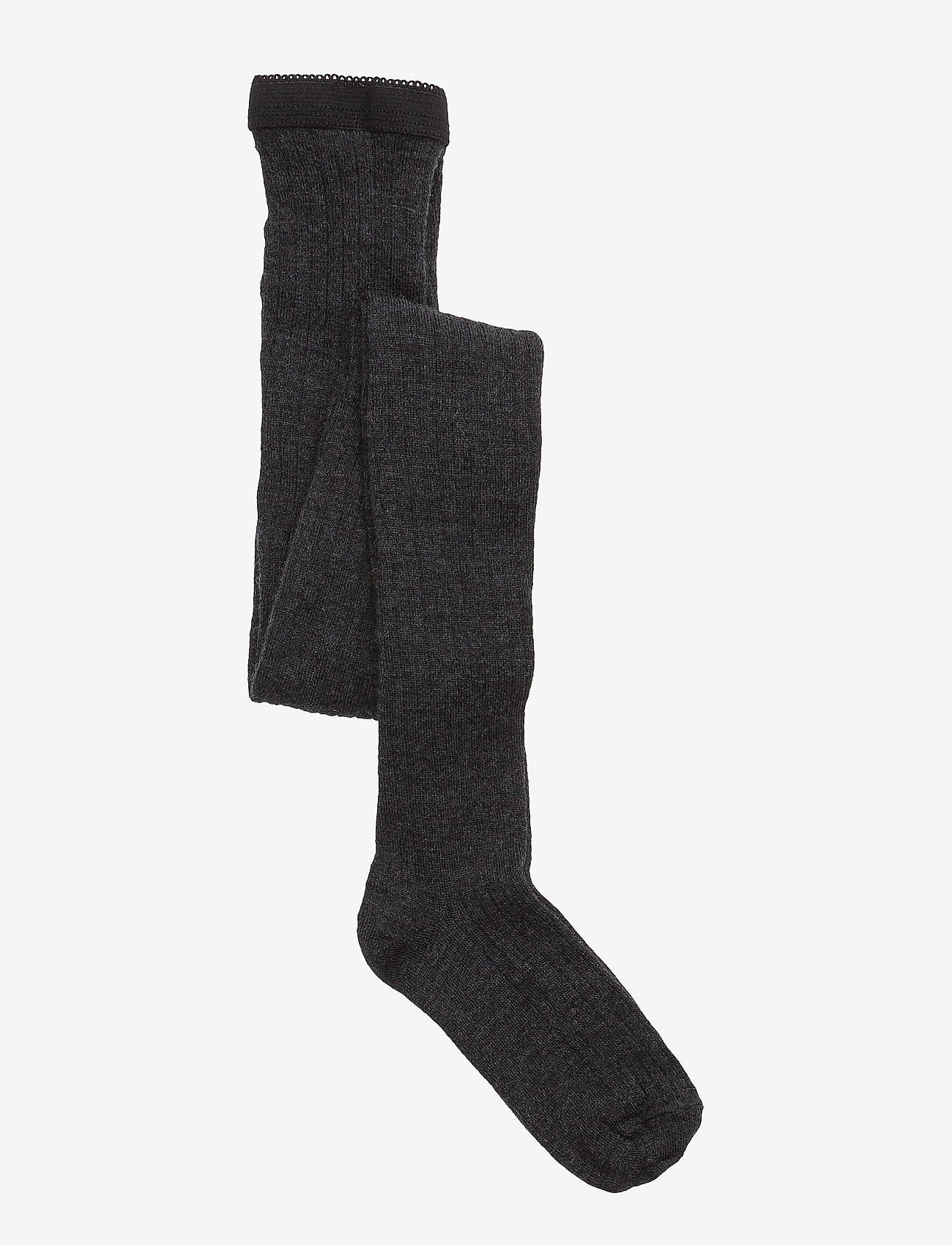 mp Denmark - Rib wool tights - strømpebukser - 497/dark grey - 0