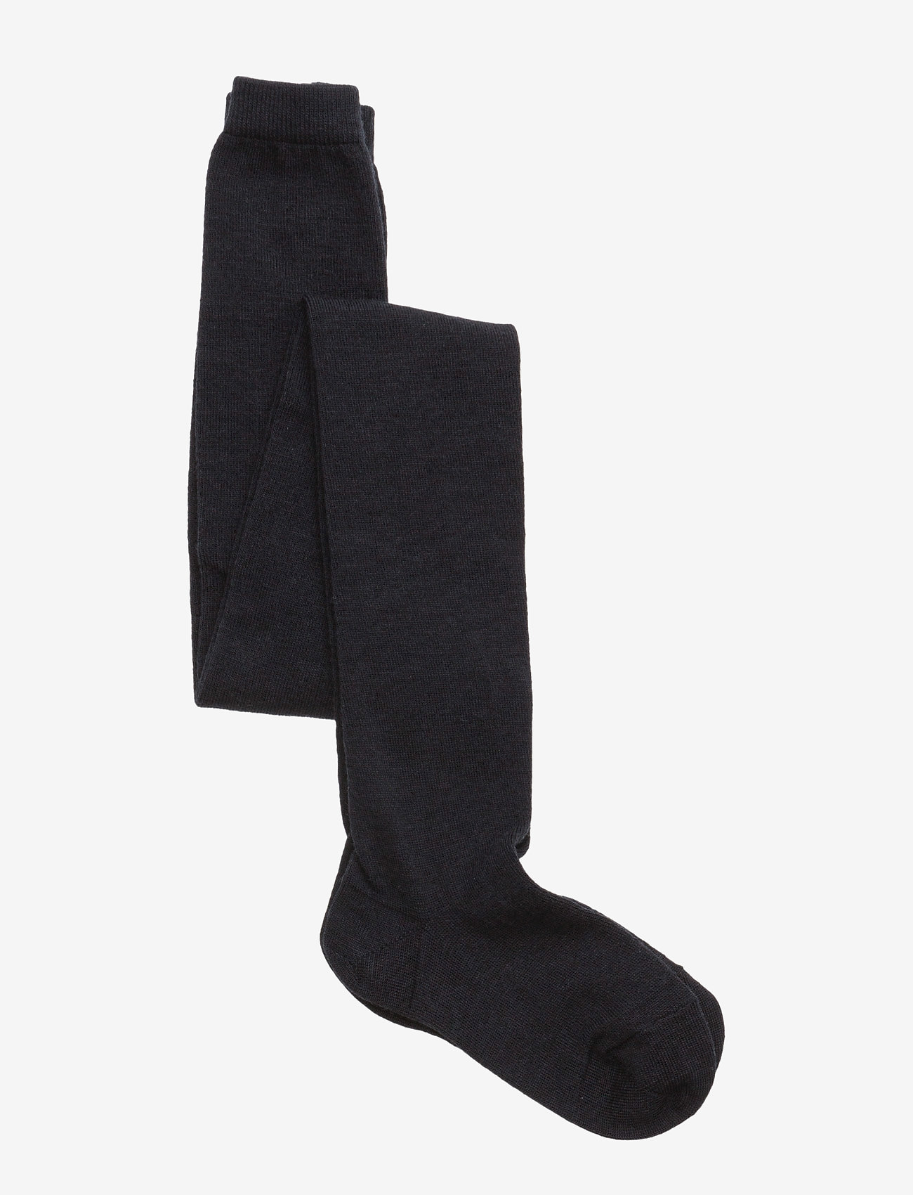 mp Denmark - Plain wool/cotton tights - strømpebukser - 66/navy - 0