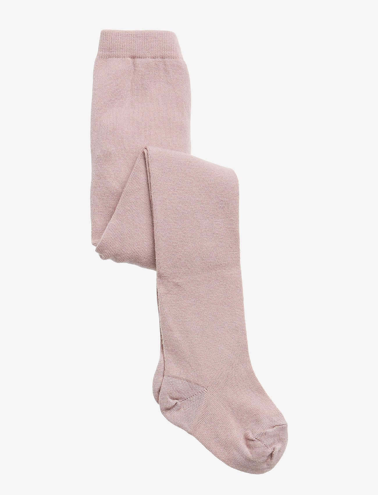 mp Denmark - Rumba wool tights with lace - strømpebukser - 188/wood rose - 0
