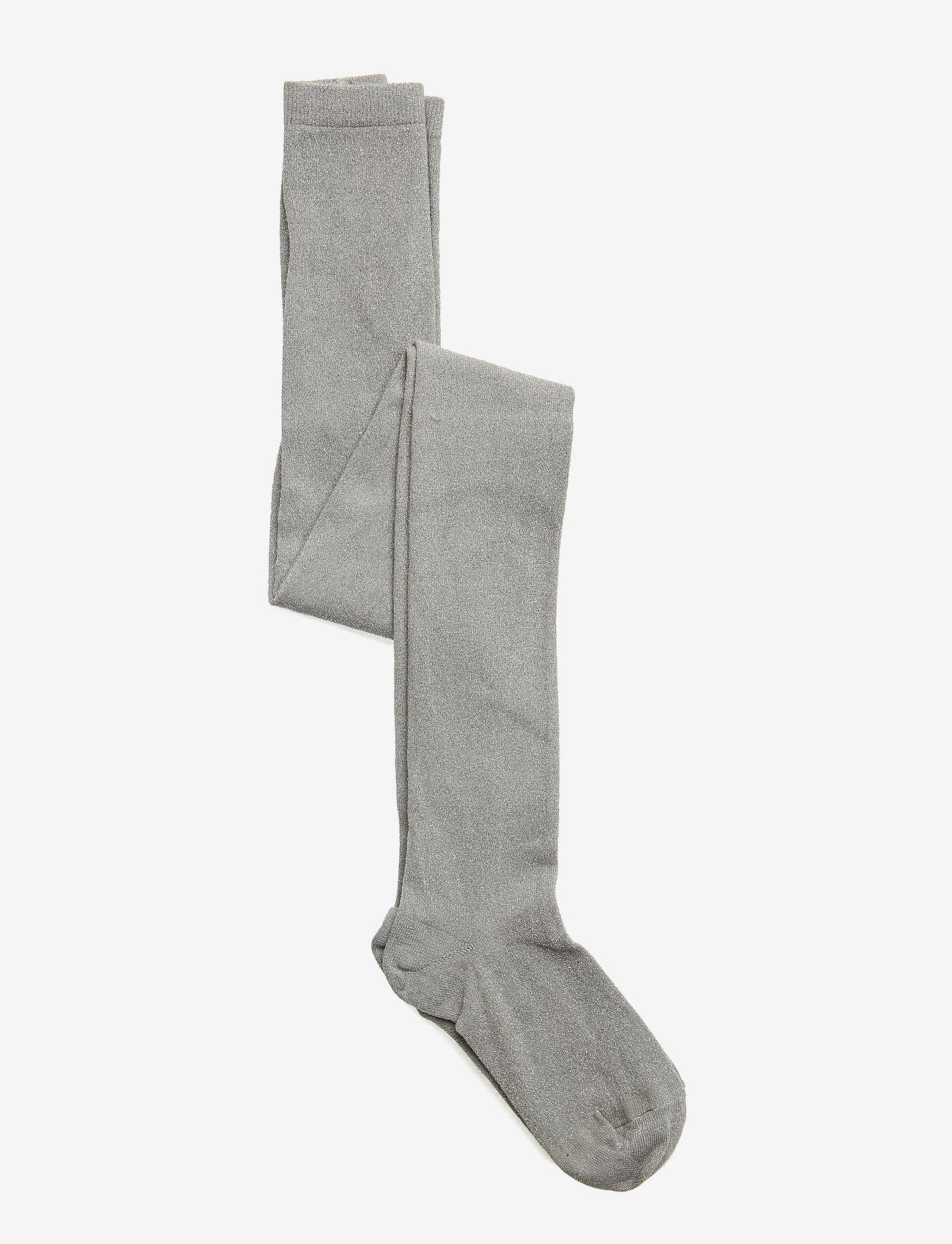 mp Denmark - Glitter tights - strømpebukser - grey - 0