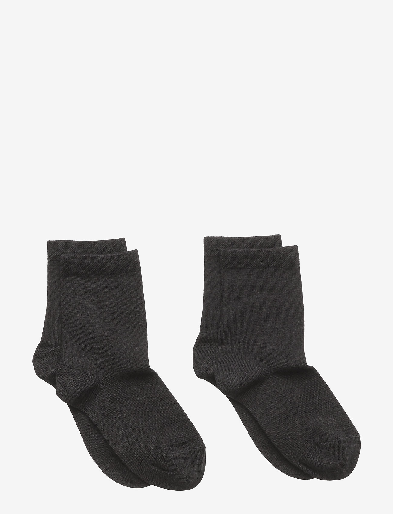 mp Denmark - 2-pack bamboo socks - skarpetki - black - 0