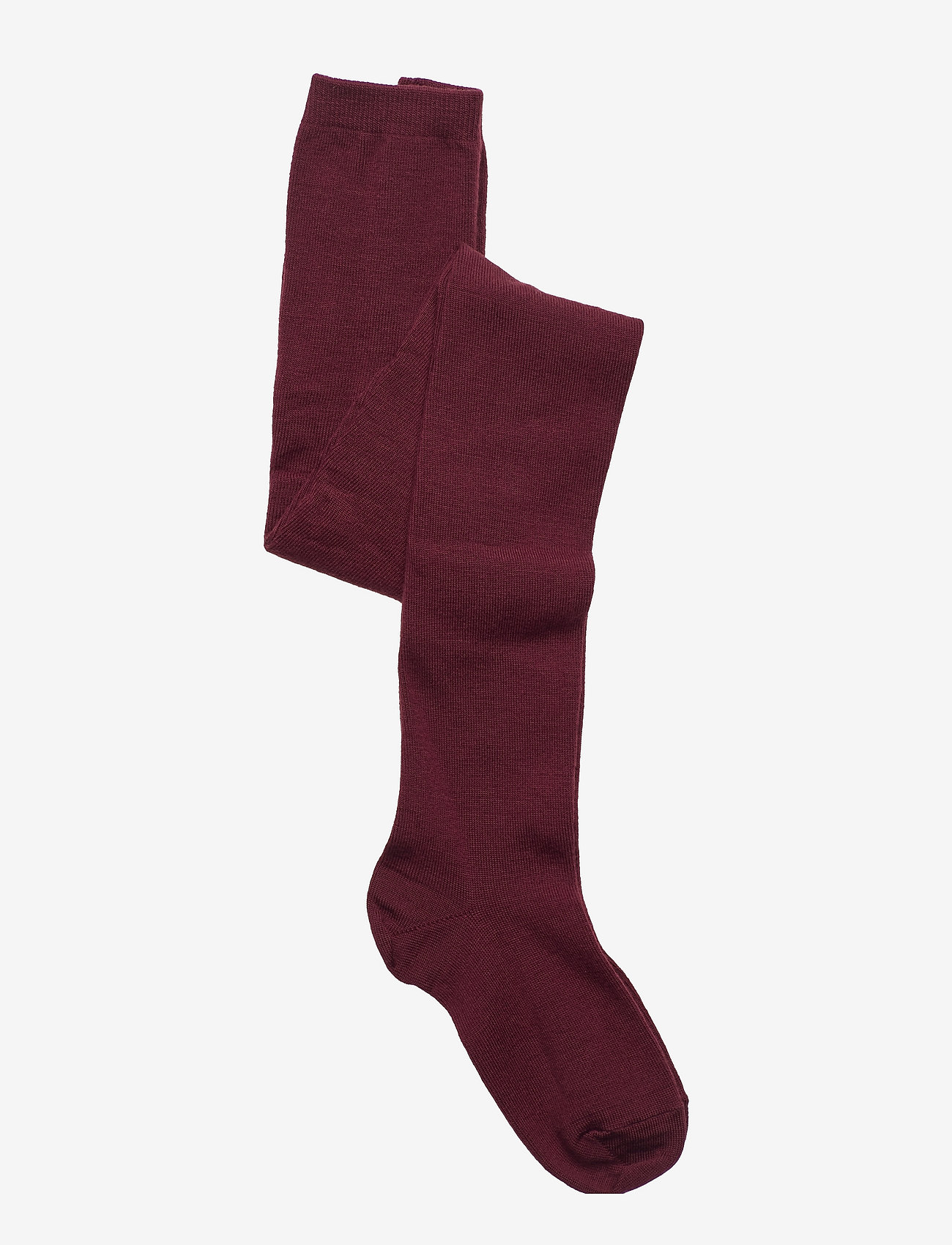 mp Denmark - TIGHTS SOLID PLAIN WOOL - rajstopy - red - 0