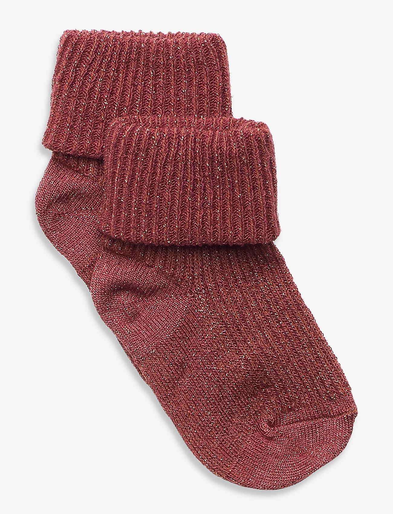 mp Denmark - Ida glitter socks - skarpetki - red - 0