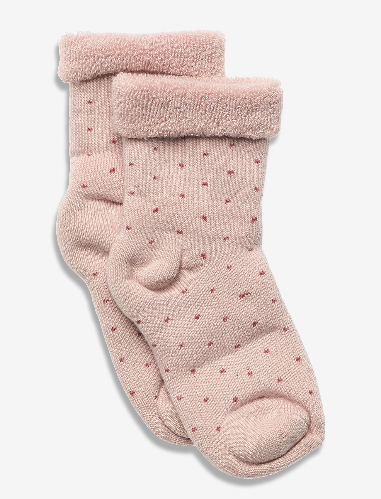 mp Denmark - Carly Terry socks - skarpetki - rose - 0