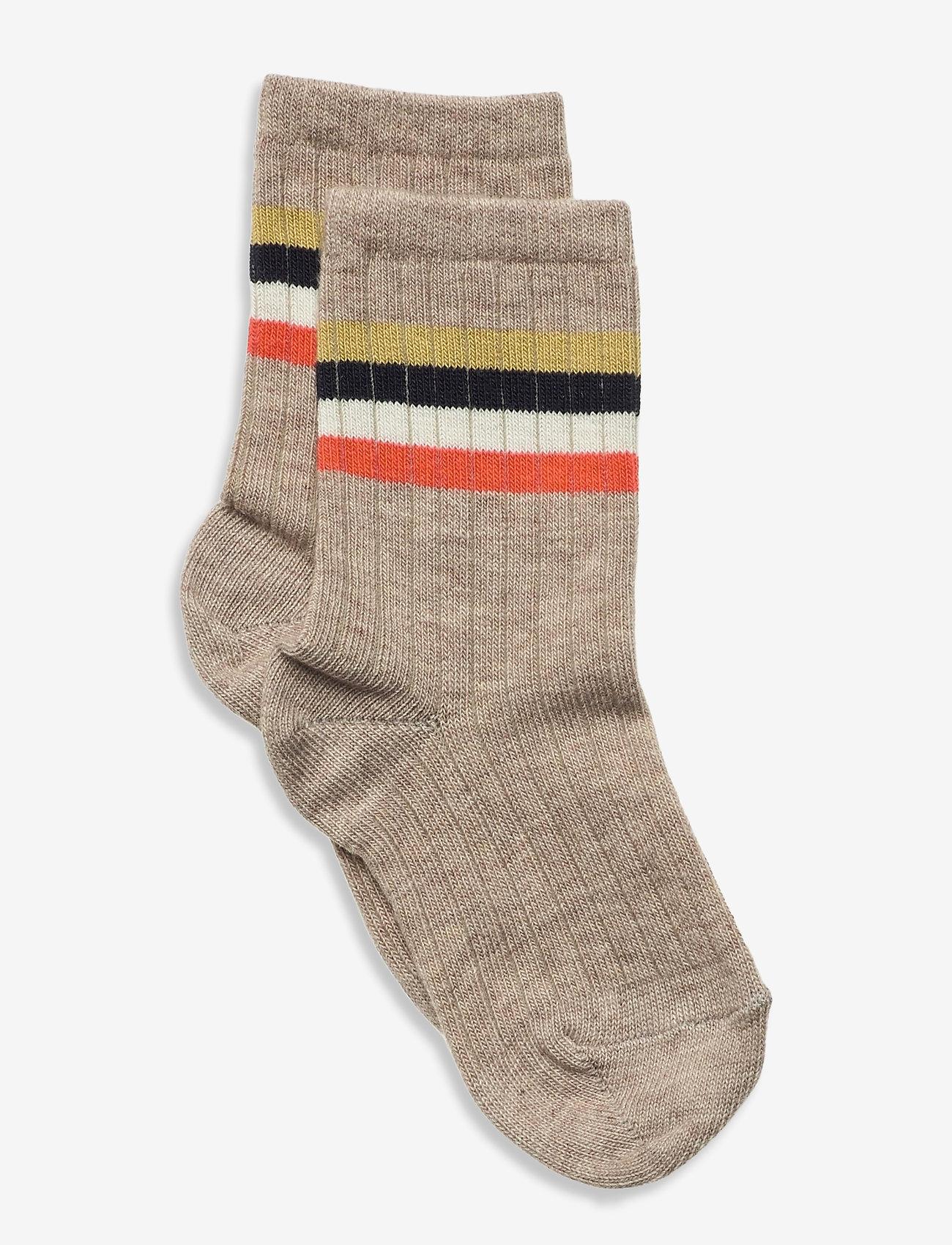 mp Denmark - Aksel socks - skarpetki - brown - 0