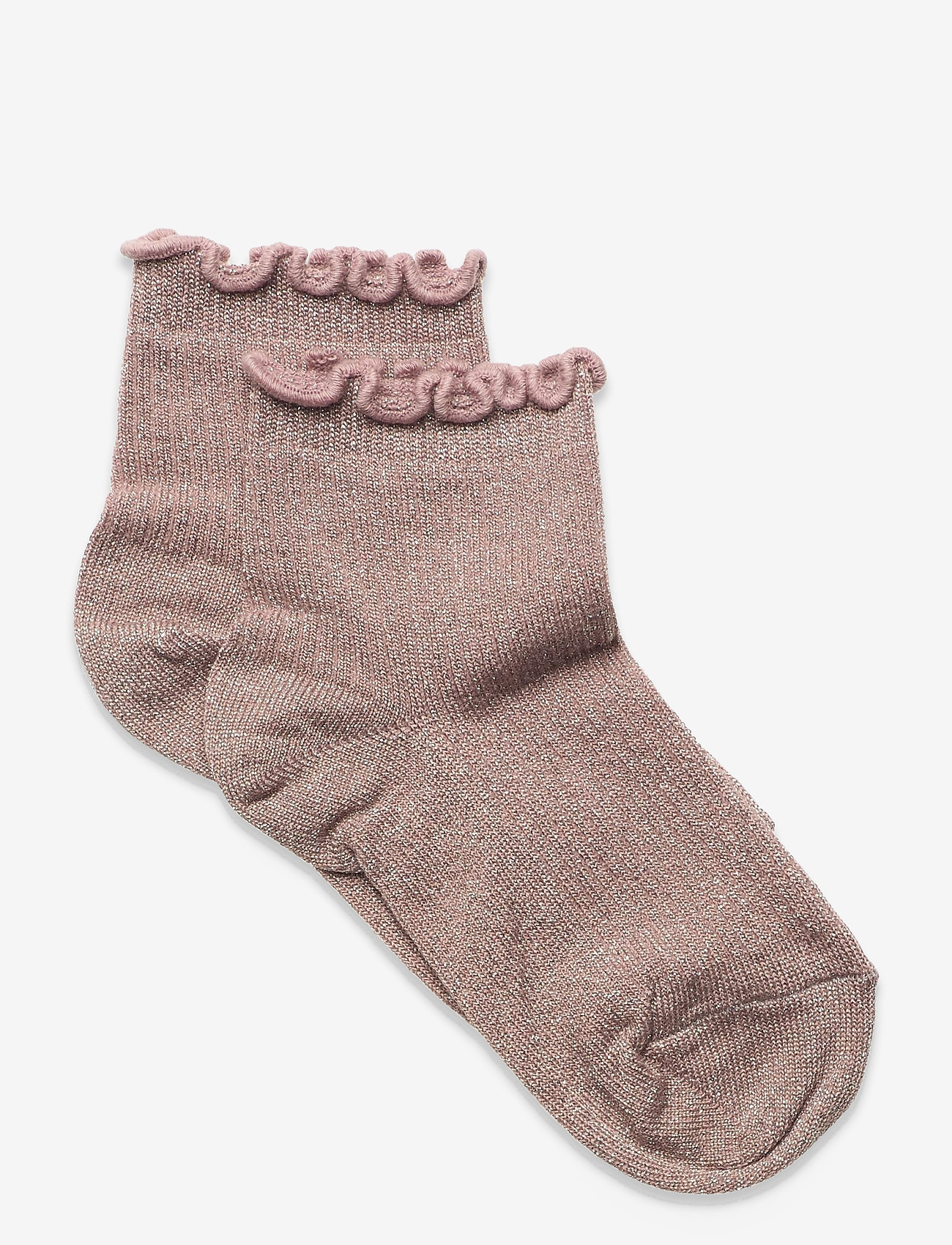 mp Denmark - Lis glitter socks - skarpetki - rose - 0