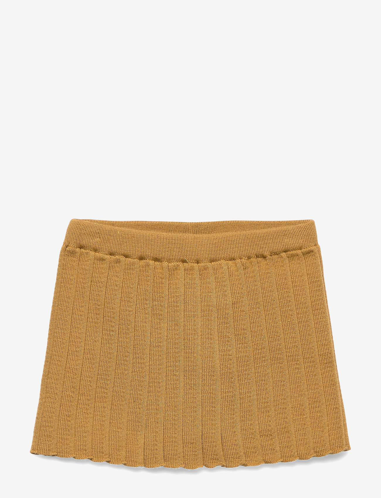 mp Denmark - Pleated Skirt - nederdele - wood trush - 0