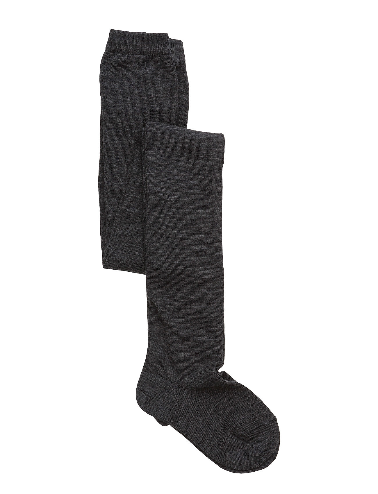 mp Denmark TIGHTS SOLID PLAIN WOOL - ANTHRACITE