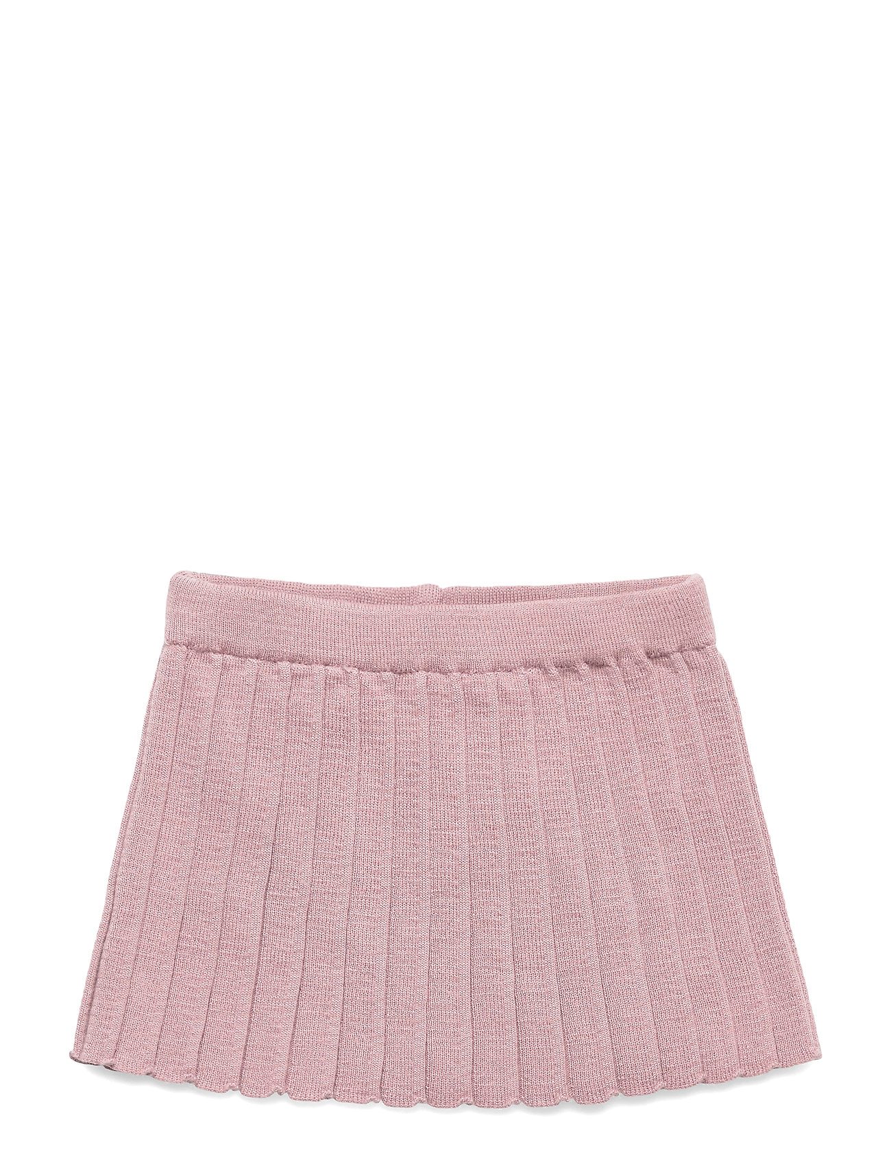 mp Denmark PLISSÉ SKIRT - WOOD ROSE