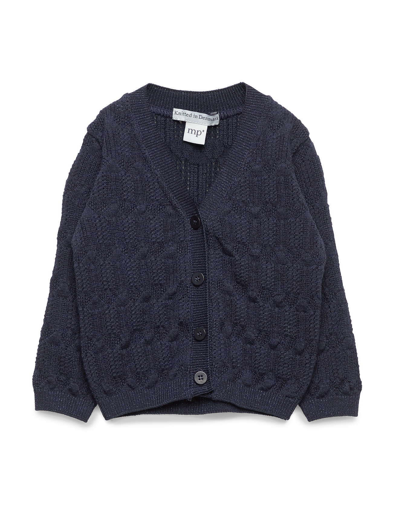 mp Denmark GIRLS CARDIGAN - NAVY