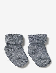 mp Denmark - ANKLESOCK TERRY WOOL BABY - socks - anthracite - 2