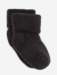 mp Denmark - Baby terry wool socks - strømper - 66/navy - 0