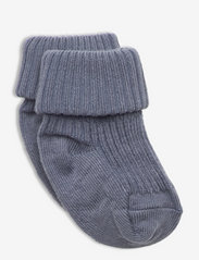 Anklesock 2/2 Pad Baby - STONE BLUE