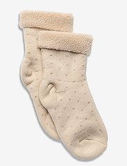 mp Denmark - Carly Terry socks - skarpetki - beige - 0
