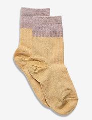 mp Denmark - Norma glitter socks - skarpetki - yellow - 0
