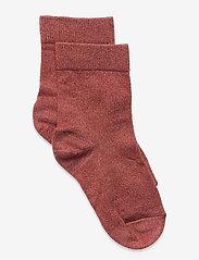 Lulu glitter socks - RED