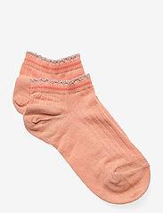 Irene sneaker socks - ORANGE