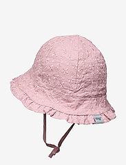 mp Denmark - FLORA BELL HAT - solhat - rose grey - 1