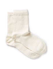 Anklesock Solid Plain - OFF-WHITE