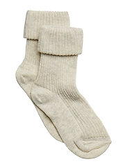 ANKLESOCK 2/2 PAD BABY - CREME MARL