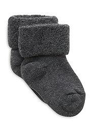 Plain bayb terry socks - GREY