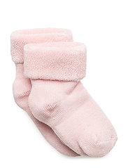 ANKLE 1 COL TERRY  Bamboo - LIGHT PINK