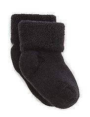 Baby terry wool socks - 66/NAVY