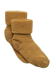 ANKLE TERRY WOOL BABY - BRONCE