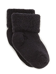 ANKLE TERRY WOOL BABY - 66/NAVY