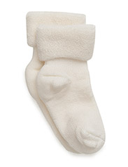 ANKLE TERRY WOOL BABY - 432/SNOW WHITE