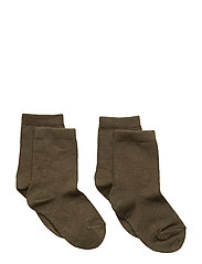 ANKLESOCK PLAIN 2-PACK 2x77107 - ARMY