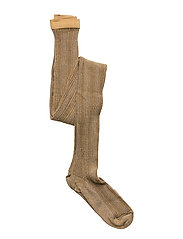 Celosia glitter tights - ANTIQUE BR