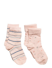 ANKLE BODIL 2pk 77053/77103 - NUDE