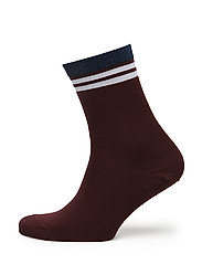 ANKLE WEST END - AUBERGINE