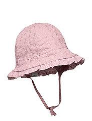 FLORA BELL HAT - ROSE GREY