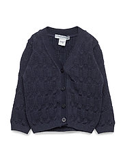 GIRLS CARDIGAN - NAVY