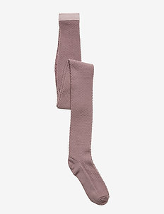 TIGHTS WOOL CAPSULE - GRAPE SHAK