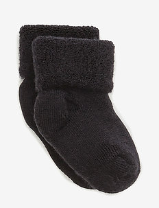 ANKLE TERRY WOOL BABY - skarpetki - 66/navy