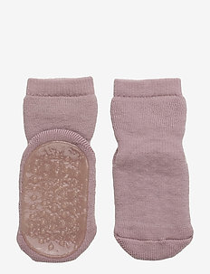 ANKLE UNI SLIPPERS NON-SLIP - non-slip socks - 188/wood rose